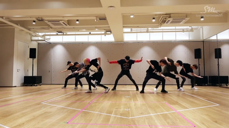 NCT 127 -- (Fire Truck)_Dance Practice