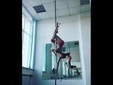 Наталья Андреева, динамический пилон