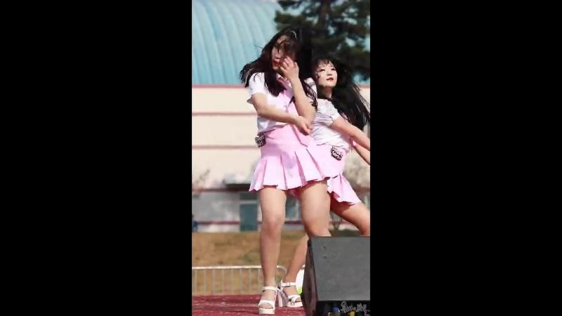 170416 여성댄스팀 스윗걸 Sweet Girl 수빈 맘마미아 Dance Cover 포천 38선 하프마라톤 대회 축하공연 fancam