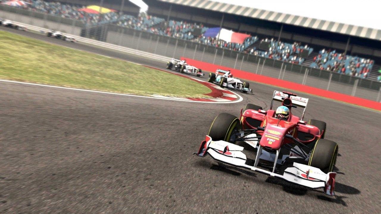 Скриншот игры F1 2011