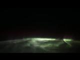 Полярное сияние с МКС