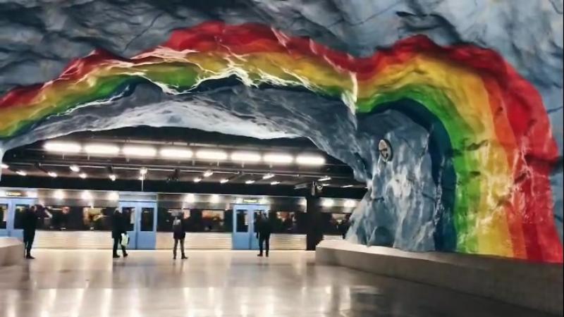 Стокгольмское метро.