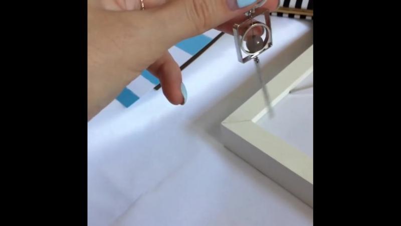 Ой, что у меня есть, девочки! Совершенная геометрия, строгость форм, благородство цвета, уникальный дизайн. 3 пары сережек. Все