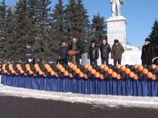 Поздравление главы г. Ржева В. В. Родивилова  с 75 годовщиной освобождения Ржева от немецко-фашистских захватчиков