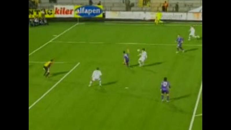 2008 - 2009 Sezonu - Hacettepe-Beşiktaş dakika 12 gol Delgado