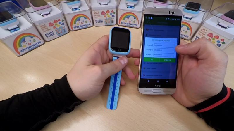 Часы Smart Baby Watch GW200S обзор и настройка