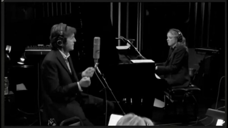 Paul McCartney, Diana Krall - We Three (My Echo, My Shadow and Me) 2012 Live rec.
