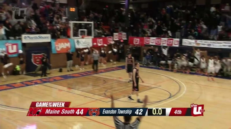 Evanston Township beats Maine South on epic buzzer beater - 1-26-2018
