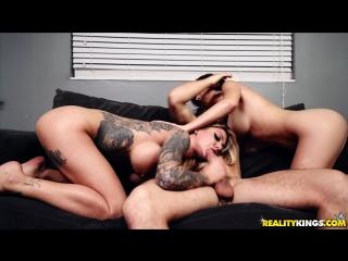 Ashly Anderson, Karma RX, Robby Echo [HD 1080, Big Tits, Deep Throat, Lesbian, Threesome, All Sex, Porn 2018]