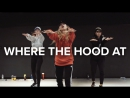 1Million dance studio Where The Hood At - DMX  Beginners Class