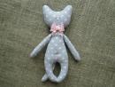 Кот тильда из ткани Мастер класс как сшить кота своими руками Tilde cat DIY _