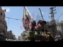 Герои Бригады имама Аль-Хусейна в районе аль-Хаджар аль-Асвад в Западной аль-Гуте