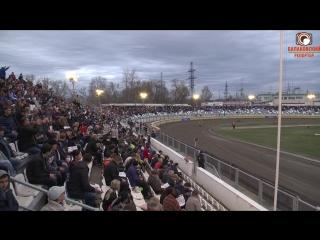 Яркая победа Наших мотогонщиков-стадион