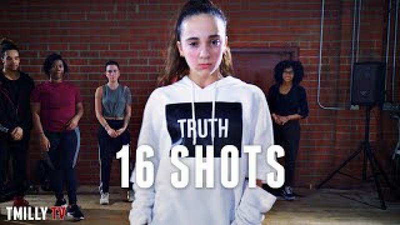 Stefflon Don - 16 Shots - Choreography by Tricia Miranda - TMillyTV