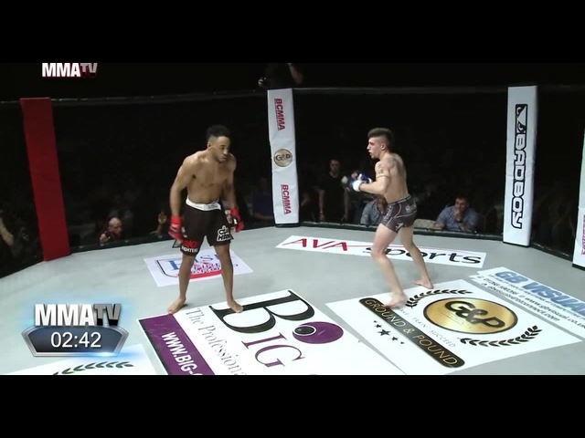 BCMMA 18: Joe Harding brutally knocked out while showboating vs Johan Sega » Freewka.com - Смотреть онлайн в хорощем качестве