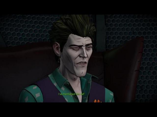 BATMAN - The Telltale Series Episode 3 - Все сцены Джокера