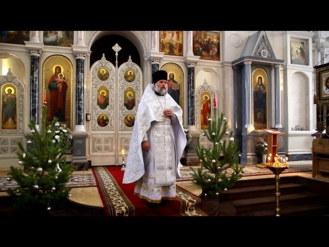 Проповедь протоиерея Владимира Лепского