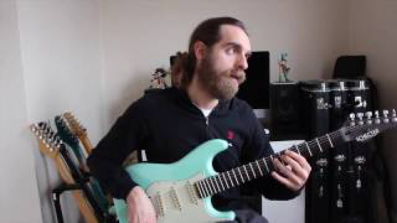 Nick Johnston - Last Practicing Before Leaving For Tour With Animals As Leaders