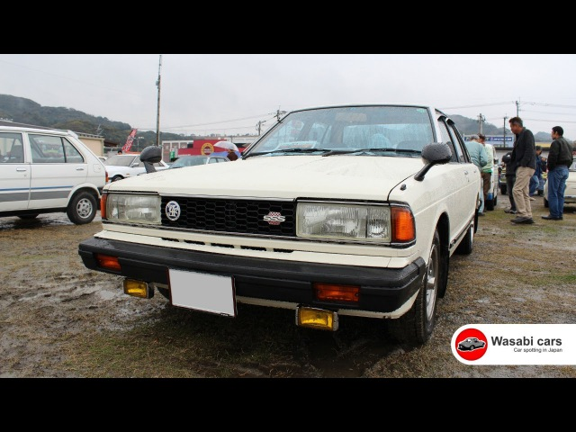 Fresh as a Daisy: A 1982, 910 Nissan Bluebird SSS-E from out of town.