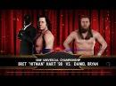 SBW Raw - Bret Hart vs Daniel Brayan