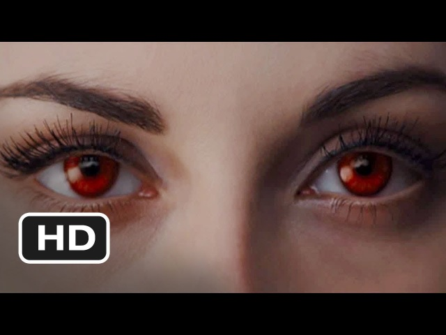 Bella Cullens Transformation - Twilight Breaking Dawn Part 1 (2011) Kristen Stewart HD
