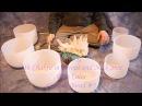 Crystal Bowl 14 min Chakra Meditation~Notes CDEFGAB