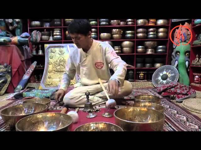 Shree Krishna Shati Singing bowl concert Nepal 2014