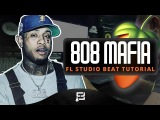 How To Make A 808 Mafia Type Beat On FL Studio 12 Making A Hard 2018 Trap Rap Styled Beat