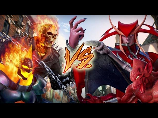HELLFIRE DEMONS: Marvel Vs. Capcom Infinite - Developer Matches/Gameplay