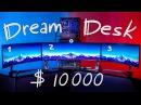 ИГРОВОЕ МЕСТО МЕЧТЫ СУПЕР УЛЬТРАШИРОКИЙ DreamDesk за $10000