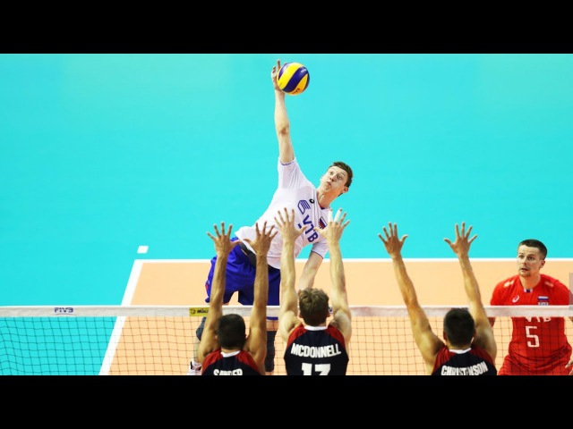 TOP 20 Crazy Actions by Dmitry Volkov | FIVB World League 2017 | Volleyball Russia