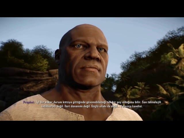 Crysis 3 Bana Prophet Derlerdi Final Sahnesi - Türkçe Dublaj