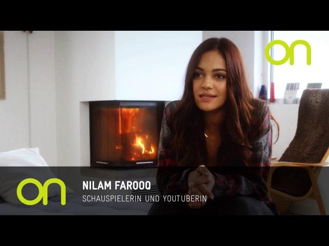 Nilam Farooq im AOK-on-Interview über Familie und Freunde