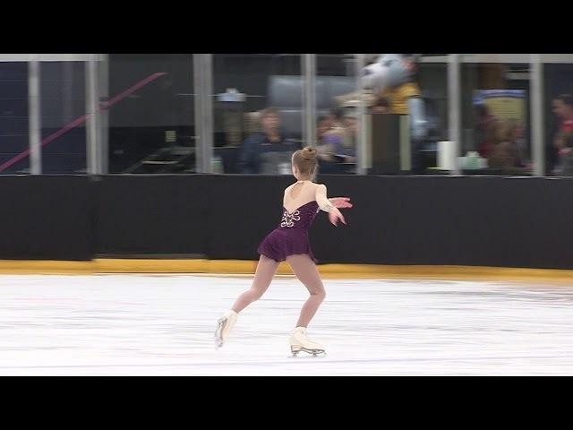 Olivia 2018 EGL Regionals Juvenile Free Skate