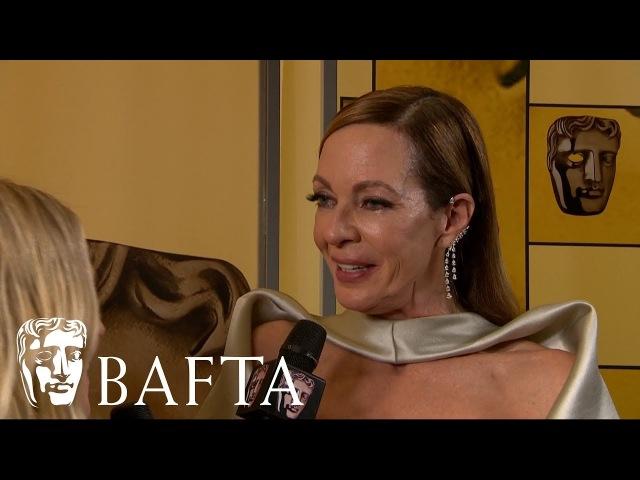 Allison Janney   Backstage Interview   EE BAFTA Film Awards 2018