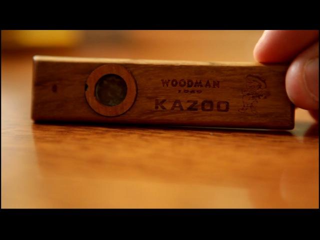 Казу из дерева Woodman Kazoo 1969 Дудка