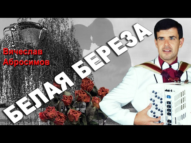 БЕЛАЯ БЕРЕЗА под баян поет Вячеслав Абросимов кавер Фристайл