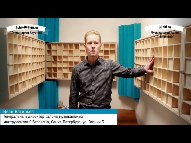 Генеральный директор салона C.Bechstein об ЭхоДизайн (Отзыв)
