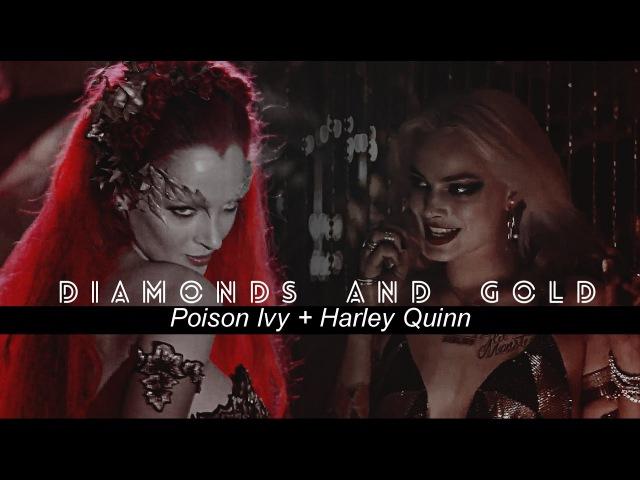 Харли Куинн Пойзон Айви [Харлайви] - Diamonds And Gold