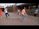 Танцы в Витебске возле пирамиды