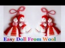 How to make yarn wool Doll step by step at home DIY Yarn Wool craft idea