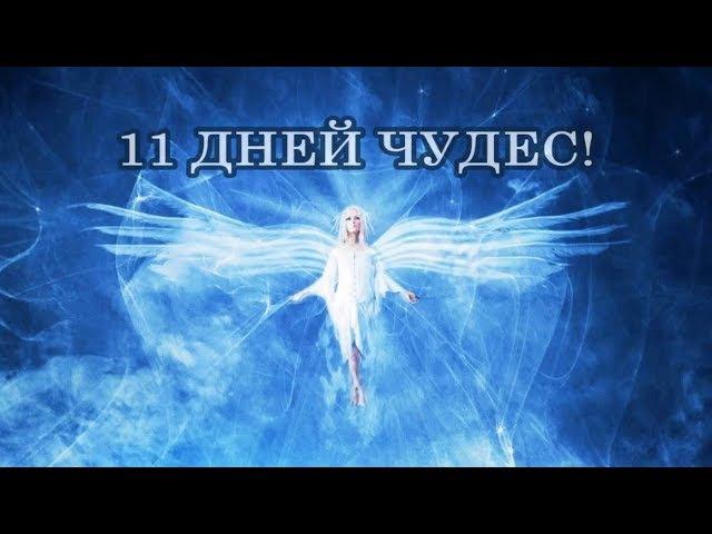 КАК ПРИВЛЕКАТЬ ЧУДЕСА В СВОЮ ЖИЗНЬ. 11 ДНЕЙ ЧУДЕС!