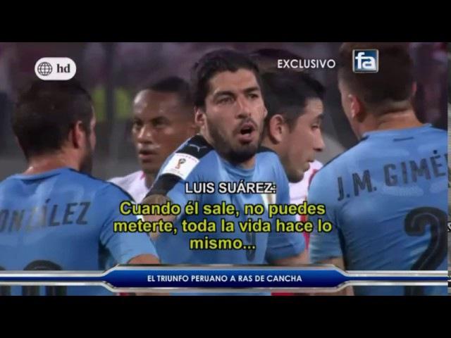 Fútbol en América (2/4/17) RAS DE CANCHA Perú (2) Uruguay (1) Eliminatorias Rusia 2018 Fecha 14