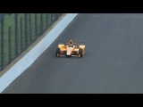 Fernando Alonso hits 2 birds during his Indy 500 Test in Indianapolis Motor Speedway