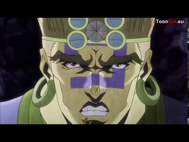 Джоу Джоу Необычные приключения - Пробуждение колонн мужчин