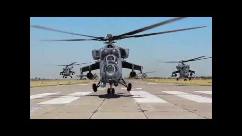 Helicopter attack | вертолетный налёт армейская авиация