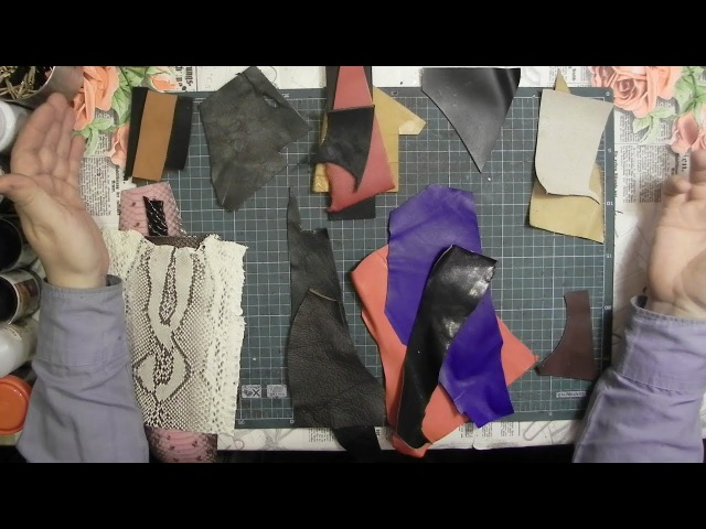 Выбор кожи для изделий. Какая бывает натуральная кожа? The choice of leather for products.
