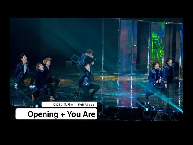 180125 Полное выступление GOT7 (Dance break Джексон, Бэмбэм рэп-интро You Are) @ 27th Seoul Music Awards