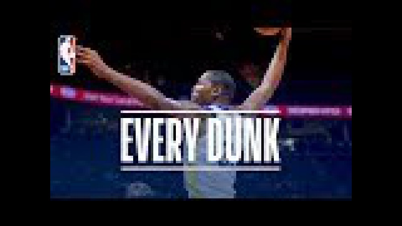 LeBron James, Eric Gordon, and Every Dunk From MLK Day   January 15, 2018
