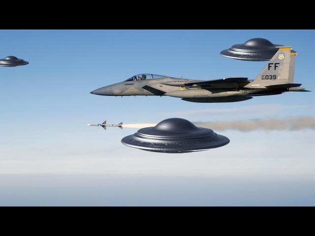 Шок! Группа НЛО преследует самолет - реальные кадры 2017 (UFO)